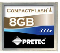 Pretec Compact Flash Card 50 GB 333x