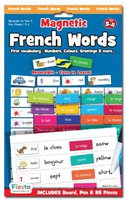 Fiesta Crafts French Words: Magnetic Activities and Games