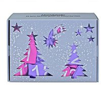 BriConti GmbH Satin Adventskalender Pink/Lila