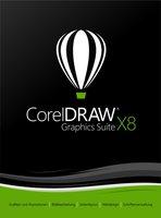 Corel Draw Graphics Suite X8 Small Business (DE) (Box)