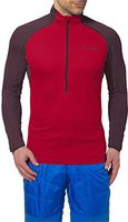 Vaude Men's La Luette Shirt indian red/raisin