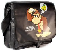 Bioworld Merchandising Nintendo Reversible Bag Flap Mario & Donkey Kong (MB140715NTN)