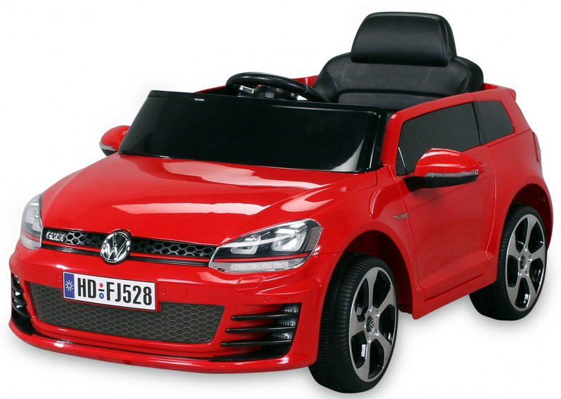 actionbikes kinder elektroauto vw golf gti preisvergleich ab 219 90. Black Bedroom Furniture Sets. Home Design Ideas