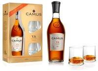 Camus VS Elegance mit 2 Gläsern 0,7l