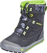Merrell Snowbank 2.0 Waterproof Kids black/grey/green