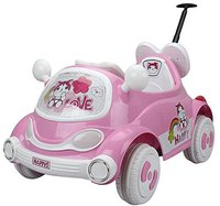 HomCom Kinder Elektroauto Pink