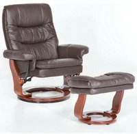 MCA-furniture SAMONE XL Kunstleder braun/walnuss (64052BK5)