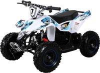 Actionbikes Kinder Elektro Miniquad Fox XTR Weiß