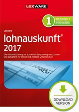 Lexware Lohnauskunft 2017 basis
