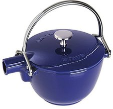 Staub New Classic Teekanne rund dunkelblau 1,15 L