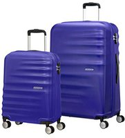 American Tourister Wavebreaker Spinner-Set 55/77 cm nautical blue