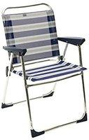 Crespo Stuhl AL-219 blau-grau