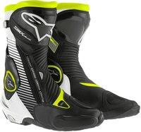 Alpinestars S-MX Plus schwarz/weiß/gelb