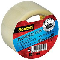 Scotch Verpackungsklebeband 50mm x 66m transparent (E5066S)
