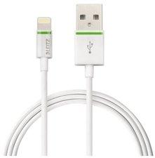 Leitz Lightning-USB Kabel 30cm weiß