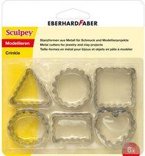 Eberhard Faber SculpeyStanzformen aus Metall Crinkle