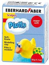 Eberhard Faber Super Soft Knete Pluffy 32g blau