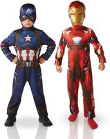 Rubies Captain America: Civil War - Captain America & Iron Man Classic Double Pack
