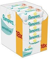 Bübchen Sensitive Feuchttücher 18 x Vorteilspack 1008 Stück Klebeverschluss