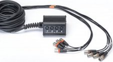 Cordial CYB 8-0 C 15 Multicore Kabel (8x IN/0x Out, Länge 15m)