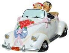 Udo Schmidt Hochzeitsspardose Cabrio geschmückt