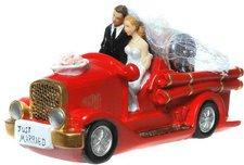 Udo Schmidt Hochzeitsspardose Feuerwehrauto