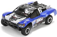 Losi 1/24 Micro SCTE 4WD RTR blue (LOS00001T2)