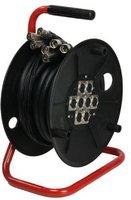 Adam Hall Multicorekabel 15m 8x XLR-XLR auf Trommel mit integr. Stagebox Sub-Snake