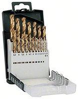 Bosch DIY 19tlg. Metallbohrer-Set HSS-TiN Grip (2609255134)
