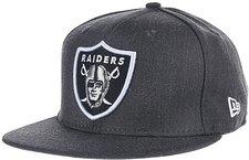 New Era Oakland Raiders NFL Tonal Team Heathe Cap 9FIFTY grau