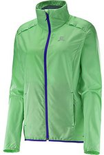 Salomon Agile Jacket W grün