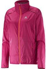 Salomon Agile Jacket W pink