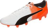 Puma evoSPEED SL-S II FG puma white/puma black/shocking orange