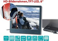 Callstel Digitaler HD-Bilderrahmen 8
