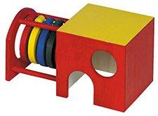 Nobby Nager Holzhaus mit Ringen Many (25464)