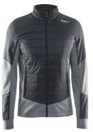 Craft Padded Hybrid Puffer Jacket black/grey