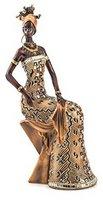 Home Affaire Afrikanische Frau sitzend braun
