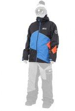 Picture Styler Jacket black/picture blue/orange