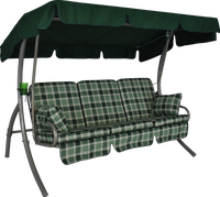 Angerer Comfort 3-Sitzer Rio grün