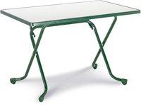 Best Freizeitmöbel Primo Scherenklapptisch 110x70cm rechteckig grün (26521130)