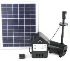 Mauk Solar-Teichpumpen-Set 10 W