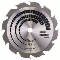 Bosch Construct Wood 184 x 16 x 2,6 mm, 12 (2608641200)