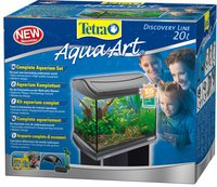 Tetra AquaArt Shrimps Komplett-Set 20 L silber