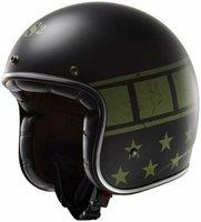 LS2 Helmets OF583 Bobber Kurt grün/schwarz