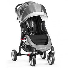 Baby Jogger City Mini 4-Wheel Steel/Grey