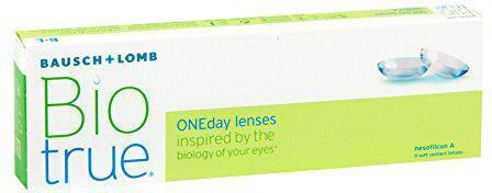 Bausch & Lomb Biotrue ONEday lenses -1.25 (5 Stk.)