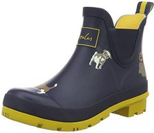 Joules Welli Bob Ankle Wellies french navy fido dog