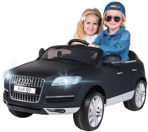 Actionbikes Kinder Elektroauto Audi Q7 Suv Matt Schwarz