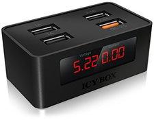RaidSonic IB-CH403 4-Port USB-Schnellladegerät
