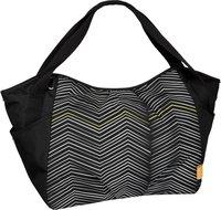 Lässig Casual Twin Bag Striped Zigzag black/white